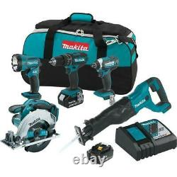 18-Volt LXT Lithium-Ion Cordless Combo Kit (5-Tool) with (2) 3.0 Ah Batteries