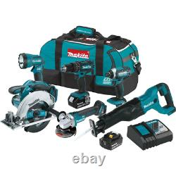 18-Volt LXT Lithium-Ion Cordless Combo Kit (6-Piece) with (2) Battery (3.0Ah), R