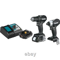 18-Volt LXT Lithium-Ion Sub-Compact Brushless Cordless 2-piece Combo Kit Driver