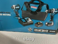 18-Volt LXT Lithium-Ion Sub-Compact Brushless Cordless 2-piece Combo Kit New