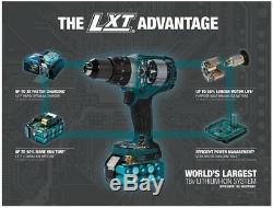 2Pc 18Volt LXT Lithium-Ion Sub-Compact Brushless Cordless Combo Kit Driver Drill
