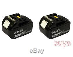 2X Makita 18V 5.0 Ah LXT Lithium Ion BHP456 To BL1850 Battery BL1850 for LXT