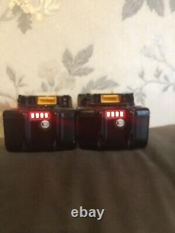 2X Makita BL1850 5. Ah LXT 18V lithium ion batterys In Is Excellent Condition
