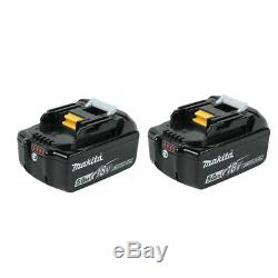 2 X Makita BL1850B 18V Volt5.0Ah LXT Lithium-Ion Battery with Indicator