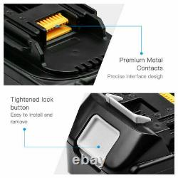 4X for MAKITA BL1840B 18V 4AH Lithium Ion battery LXT400 with LED indicator NEW