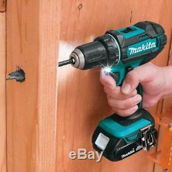 Cordless Driver Drill and Impact Driver Combo Kit Tool Set 18-V LXT Lithium-Ion