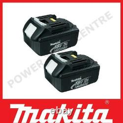 Genuine Makita BL1830 18 Volt 3.0Ah LXT Lithium-Ion Slide-On Battery Twin Pack