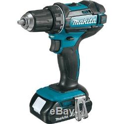 MAKITA ct225r lithium-ion drill/driver & impact driver combo 18v 18 volt withwrnt