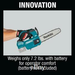 Makita 10 in. 18-Volt LXT Lithium-Ion Brushless Cordless Top Handle Chain Saw
