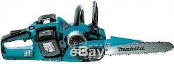Makita 14 In. 18V X2 (36V) LXT Lithium-Ion Brushless Cordless Chain Saw Kit And
