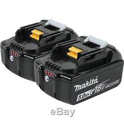 Makita 18V 5.0 Ah LXT Lithium Ion BHP456 To BL1850B Battery STAR MARKED lion