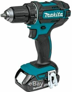Makita 18V Compact Lithium-Ion Cordless 2-Piece Combo Kit (CT225R) with warranty