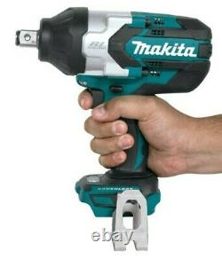 Makita 18V LXT Lithium-Ion 3/4 Cordless Impact Wrench XWT08 With Battery