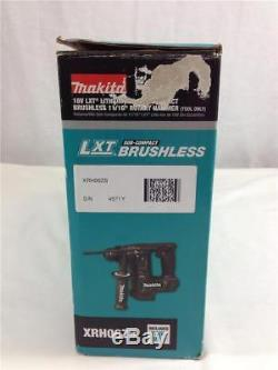 Makita 18V LXT Lithium-Ion Sub-Compact 11/16 Rotary Hammer Tool Only XRH06ZB