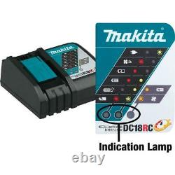Makita 18-Volt LXT Lithium-Ion 4.0 Ah Battery and Rapid Optimum Charger Starter