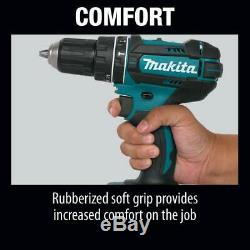 Makita 18-Volt LXT Lithium-Ion Cordless Combo Kit (6-Piece) with (2) Battery