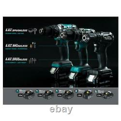 Makita 18-Volt LXT Lithium-Ion Sub-Compact Brushless Cordless 2-piece Combo Kit