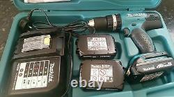 Makita 18 volt 1.5Ah combi drill with 3 batteries lithium ion batteries