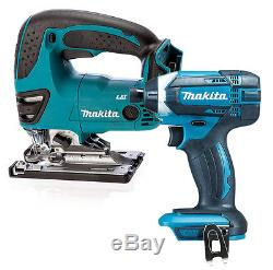 Makita 18v Cordless LXT Lithium Ion DTD152 Impact Driver + DJV180 Jigsaw SPECIAL