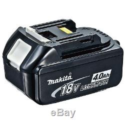 Makita 18v Lithium Ion Bl1840 Genuine Battery 4.0ah 8 Pack Battery Indicator
