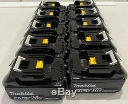 Makita 18v Lxt Lithium Ion Bl1840 4.0ah 10 Pack Battery Indicator Genuine