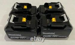 Makita 18v Lxt Lithium Ion Bl1840 4.0ah 4 Pack Battery Indicator Genuine
