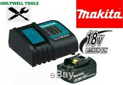 Makita BL1830 Lithium Ion 3.0ah Battery + DC18SD 9.6-18v 30 Minute Fast Charger