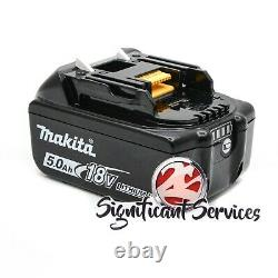 Makita BL1850B-2 18-Volt 5.0Ah Compact Lithium-Ion Battery and Charger Kit