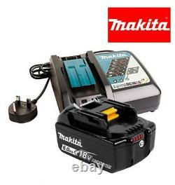 Makita Bl1860b 18v Lxt 6.0ah Lithium Ion Battery + Dc18rc Charger Genuine