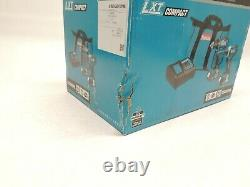 Makita CT225SYX 18V LXT Lithium-Ion Compact Combo Kit