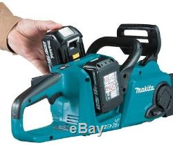 Makita Chain Saw Kit Cordless 14 18V Lithium-Ion Brushless Motor Chainsaw