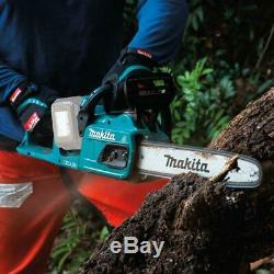 Makita Cordless Chain Saw 14 Inch 18 Volt X2 36 Volt LXT Lithium Ion Brushless