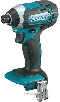 Makita Cordless Combo Power Tool 18 Volt LXT Lithium Ion Battery Charger 5 Piece
