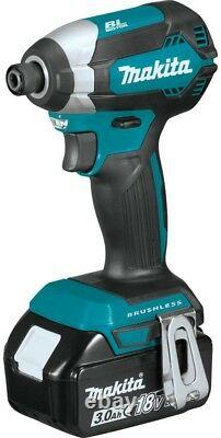 Makita Cordless Impact Driver Variable Speed LXT Lithium-Ion Brushless Battery