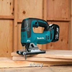 Makita Cordless Jig Saw 18 Volt LXT Lithium Ion Brushless Faster Cutting Tool