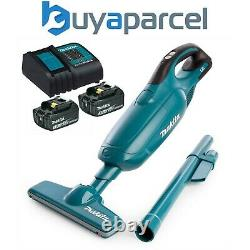 Makita DCL182Z 18v Volt LXT Lithium Ion Vacuum Cleaner Cordless + 2 x Battery
