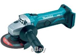 Makita DGA452Z 18v 4.5 115mm Angle Grinder Lithium Ion Bare Unit Replace BGA452