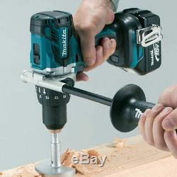 Makita DHP481Z 18v LXT Lithium-Ion Combi Hammer Drill With 2 x 4.0Ah Batteries