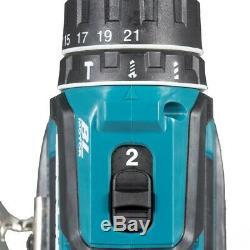 Makita DHP485SFE 18V LXT Lithium Ion Brushless Combi Hammer Drill 2x 3.0ah