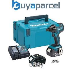 Makita DTD129RFJ 18V LXT Lithium Ion BRUSHLESS Impact Driver 2 x 3.0ah Batts