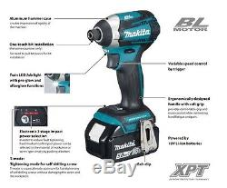 Makita DTD154Z 18v LXT Lithium Ion Brushless Cordless 3 Stage Impact Driver