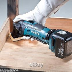 Makita DTM50Z 18v LXT Lithium Ion Cordless Multi Tool With 36 Accessories