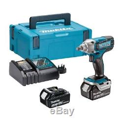 Makita DTW190RFJ 18v 2x 3.0Ah Lithium-ion LXT Impact Wrench DTW190