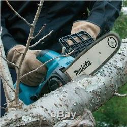 Makita DUC252Z Twin 18v / 36v LXT Cordless Lithium Ion Chainsaw 250mm Bare Unit