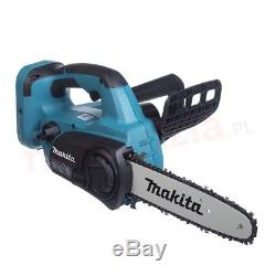 Makita DUC252Z Twin 18v LXT Cordless Lithium Ion Chainsaw 250mm Bare Unit