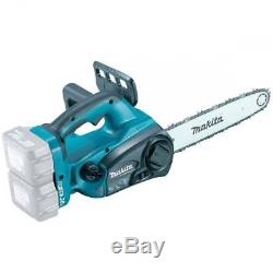 Makita DUC302Z TWIN 18v / 36v LXT CORDLESS LITHIUM ION CHAINSAW 300mm BODY ONLY