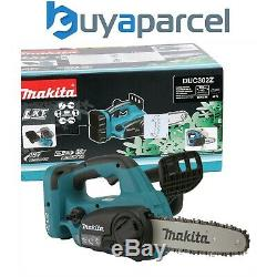 Makita DUC302Z Twin 18v / 36v LXT Cordless Lithium Ion Chainsaw 300mm Bare Unit