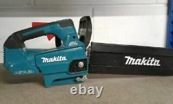 Makita DUC306Z Twin 18v / 36v LXT Cordless Lithium Ion Chainsaw 300mm Bare Unit