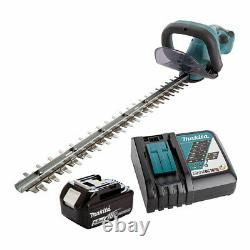 Makita DUH523RT LXT 18V Hedge Trimmer with 1x 5.0Ah Battery AND fast charger