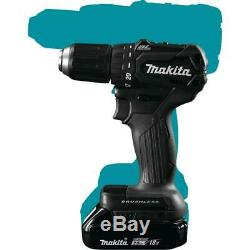 Makita Driver-Drill Kit 1/2 in. 18-Volt Lithium-Ion Cordless Brushless